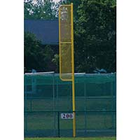20' Professional Foul Pole (Baseball - Semi/Perm - Yellow)