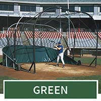 Grand Slam Portable Batting Cage (Green)
