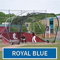 Grand Slam Portable Batting Cage (Royal Blue)
