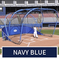 Big League Professional Batting Cage (Navy Blue)