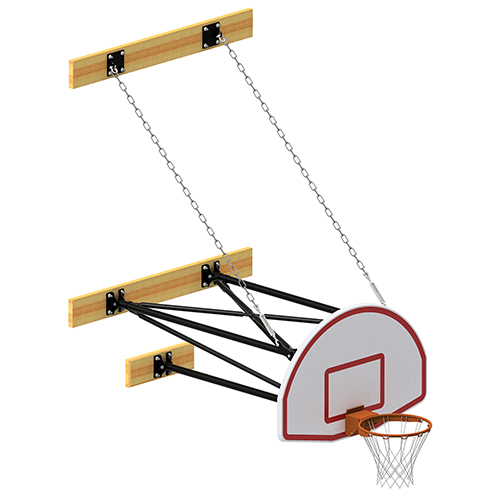 3-Point Stationary Fan Board Backstop Systems