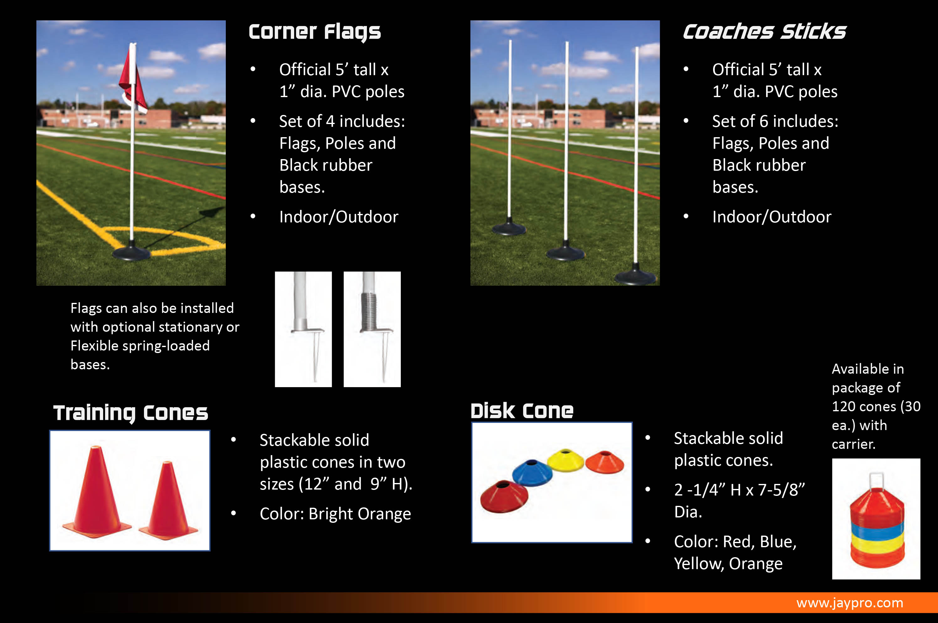 Jaypro Sports Field Accessories header image