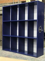 Helmet Rack (16 Helmet Capacity - 4 rows of 4)
