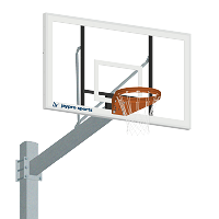 Basketball System - Titan™ - Galvanized (6