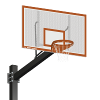 Basketball System - Titan™ - Powder Coated Black (6