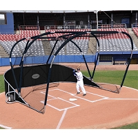 Big League Portable Batting Cage (Black)