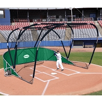 Big League Portable Batting Cage (Green)