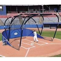 Big League Portable Batting Cage (Royal Blue)