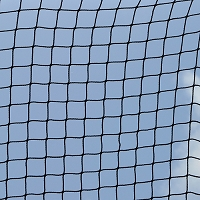 Batting Cage Replacement Net  (#42 Weather -Treated Nylon Mesh) - Big League Series - Bomber™ All Star/Elite/Pro Batting Cages (Black)