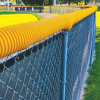 Poly-Cap Fence Top Protection (100' - colored)