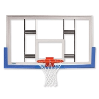 Backboard Conversion Kit - Tempered Glass Conversion Package - NCAA, NFHS Compliant