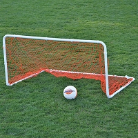 Soccer Practice Goal Replacement Net - Two-For-Youth Goal (Orange)