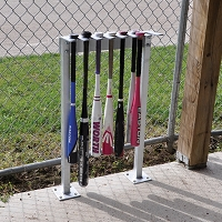 Permanent Bat Rack - (14 Bat Capacity)