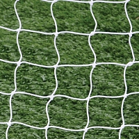 World Cup Goal Net - 8' x 24' x 6 1/2' x 7 1/2' - 4 3/4