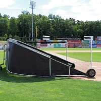 Grand Slam Portable Batting Cage (Black)