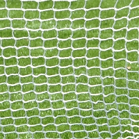 Replacement Net - Soccer Training Goal  - Large - Goal Runner™ (4'H x 6'W) (White with Blue Sleeve)