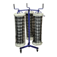 Volleyball Net Storage Rack - Net Keeper - Triple Net