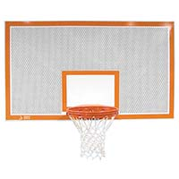 "42"" Rectangular Perforated Aluminum Backboard"