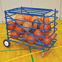 Ball Carrier with Mesh Hamper Insert - Atlas™ Series (Blue)