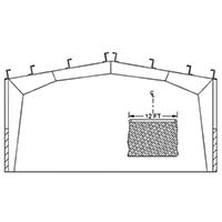 Ceiling Mounting Kit - Rigid Frame