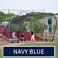 Grand Slam Portable Batting Cage (Navy Blue)