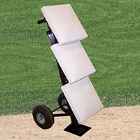 Base Cart Package with Bases (BB-500) - StackMaster™ - Professional (Black)
