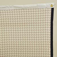 Badminton Replacement Net (210/12 Knotless Nylon Sq. Mesh) (21'L x 30