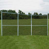 Backstop Fence (3 Panel) - Permanent