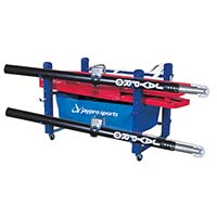 "Deluxe Volleyball Equipment Carrier (48""L x 36""W - 6 poles)"