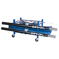 "Standard Volleyball Equipment Carrier (42""L x 32""W - 4 poles)"
