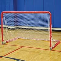 Folding Multi-Purpose Goal Replacement Net (4'H x 6'W) (1- Red, 1-Blue)