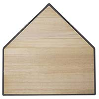 Bury-All Home Plate (Wood-Filled)