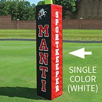Rugby Goal Pad - White Lettering