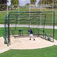 Line Drive Cage Net