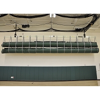Securelift™ Wrestling Mat Storage System (Double Ceiling Suspended)