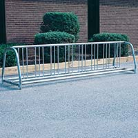 Portable Bicycle Rack (10 Capacity)