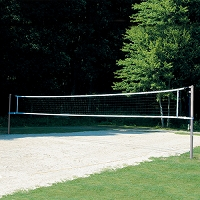 Outdoor Competition Volleyball System (Set of 2)