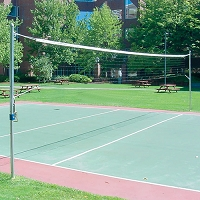 Outdoor Volleyball Recreational Volleyball Uprights (2-3/8