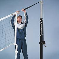 "Flex Net™ - Cableless, Competition Volleyball Net (32'L x 39""H)"