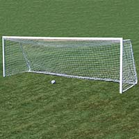Team Official Square Goal - 8' x 24' x 4' x 10' (Set of 2)