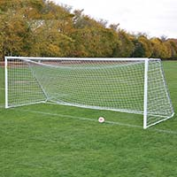 Deluxe Classic Official Round Goal Package <br/>- 8' x 24' x 4' x 10'  (Set of 2)