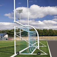 NOVA™ Premiere Adjustable Goal - 8' x 24' x 4' x 10' (Set of 2)