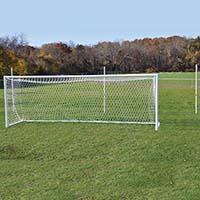 NOVA™ World Fold-Up Goal - 8' x 24' x 6' x 6' (Set of 2)