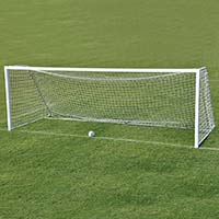 Classic Official Square Goal (Portable) - 8' x 24' x 4' x 10' (Set of 2)