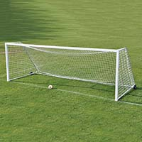 Deluxe Classic Official Square Goal Package <br/>- 8' x 24' x 4' x 10'  (Set of 2)