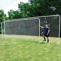 Soccer Training Goal with Bag - Large (8'H x 24'W)