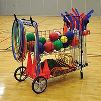Ball Cart - ToteMaster™ - Deluxe Open Top