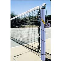 "3-1/2"" Heavy-Duty Tennis Posts (Galvanized) (Set of 2)"