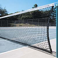 Collegiate Tennis Net