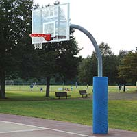 "Ultimate Adjustable Gooseneck (Acrylic Backboard - 72"" x 42"")"